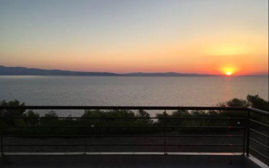 Вид на море Греция